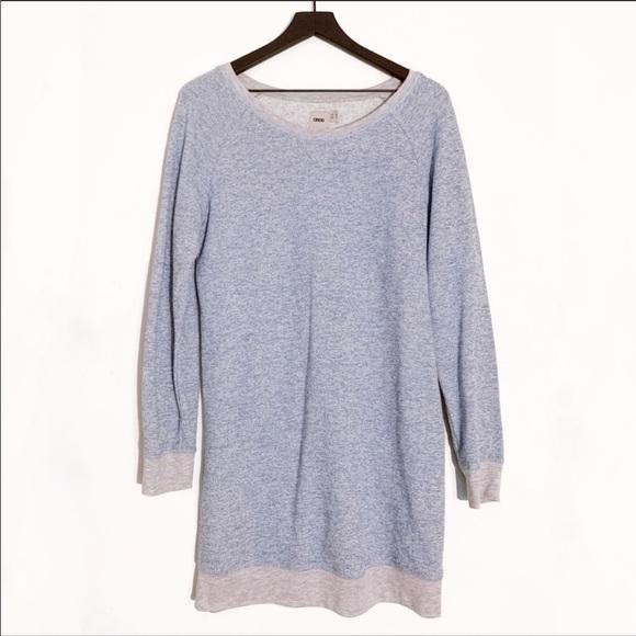 ASOS Dresses & Skirts - ASOS | Heather Blue Long Sleeve Sweater Dress S
